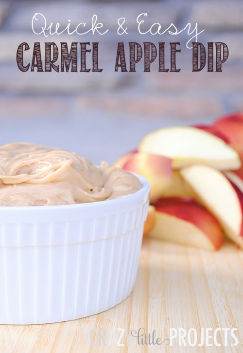 Caramel Apple Dip - 20 of The Best Apple Recipes