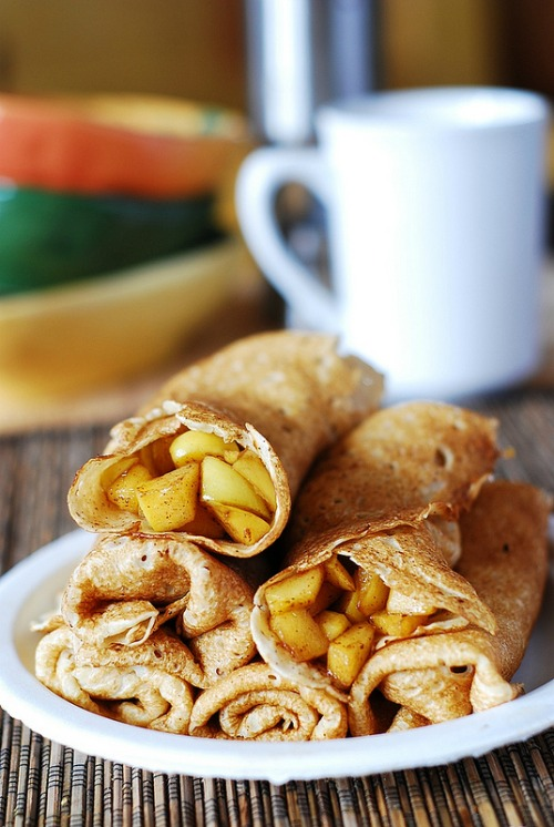 Apple Cinnamon Crepes - 20 of The Best Apple Recipes