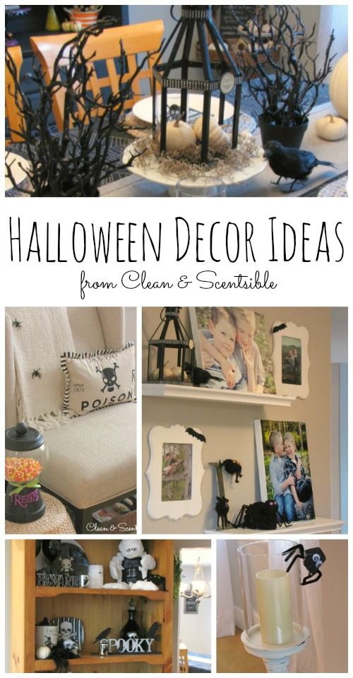 Lots of great Halloween decorating ideas!