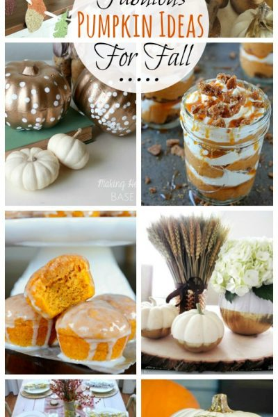 Lots of great pumpkin ideas for fall! // cleanandscentsible.com