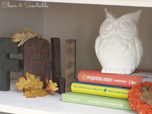 Lots of fall decorating ideas!