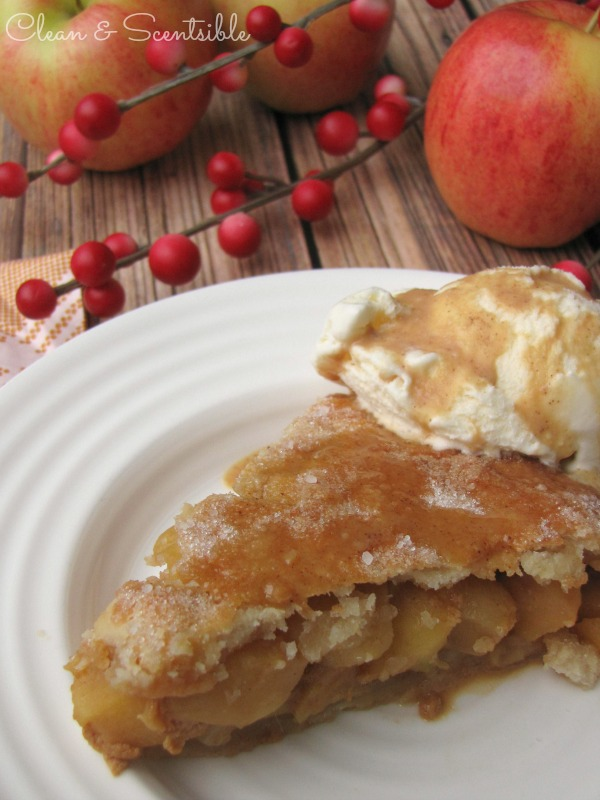 Salted Caramel Apple Pie.  SO good!!