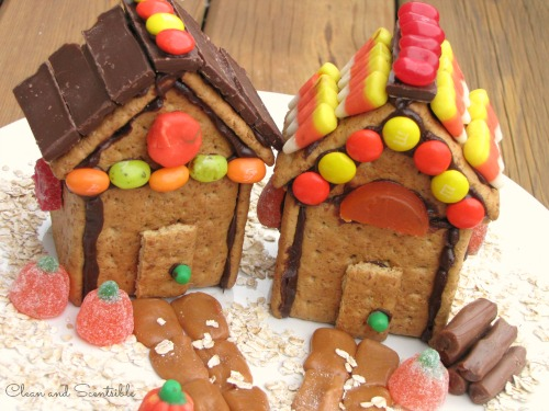 "Thanksgiving ""Gingerbread"" House"