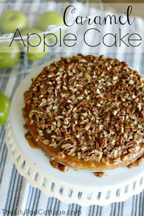 Caramel Apple Cake - 20 of the Best Apple Recipes