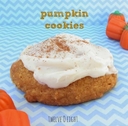 Pumpkin-cookies.