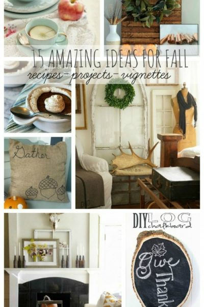 15 Fabulous Fall Ideas!