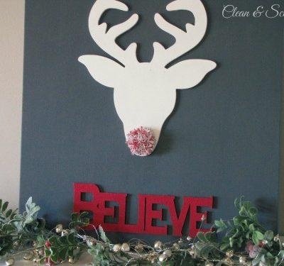 Believe Christmas Canvas Art