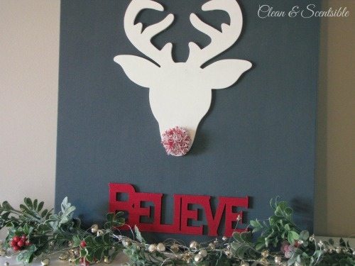Believe Christmas Canvas Art