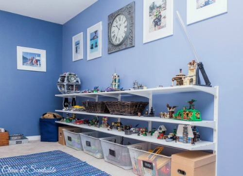 Love all of these Lego Organization ideas! // cleanandscentsible.com & Lego Organization - Clean and Scentsible