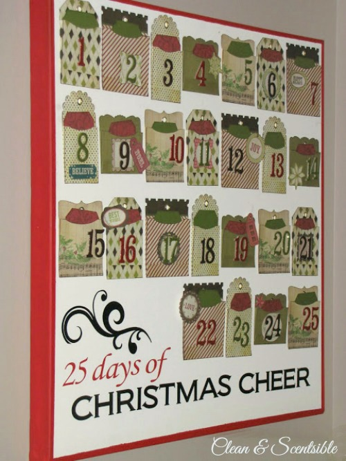 Cute Christmas Activity Advent Calendar!