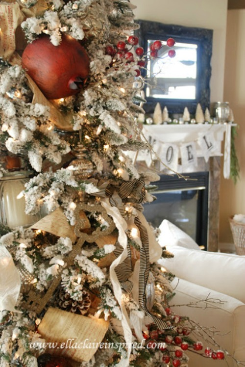 Lots of DIY Christmas decorating inspiration! : primitive christmas decor ideas - www.pureclipart.com