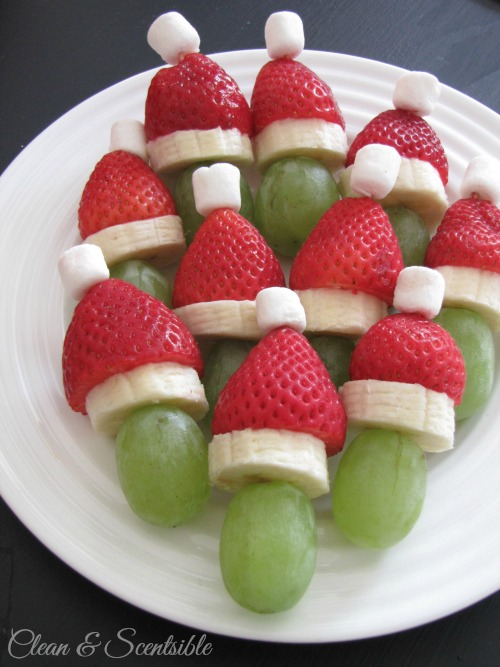christmas party fruit ideas