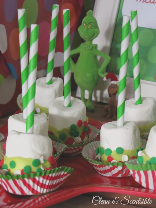 How The Grinch Stole Christmas Cake Decorations