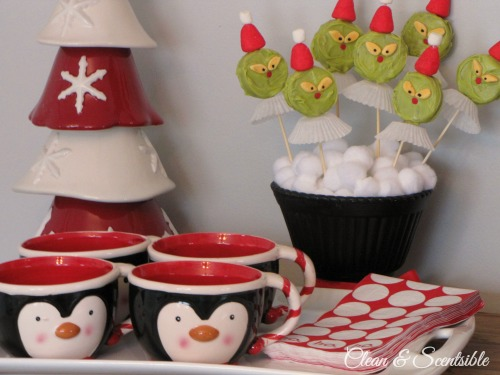 Lots of fun Grinch party ideas for Christmas.
