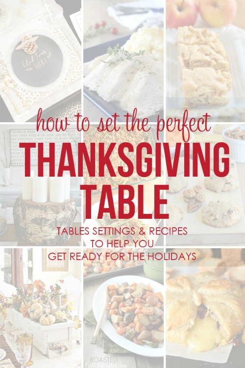How to set the perfect Thanksgiving tables.  Tablescapes and recipes to help you celebrate the season!