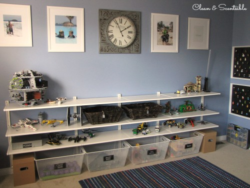 Great post on Lego organization - tons of ideas!