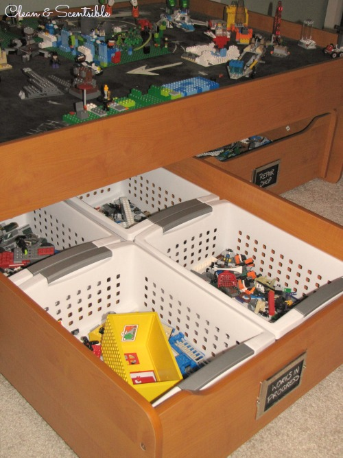 Great post on Lego organization - tons of ideas!!