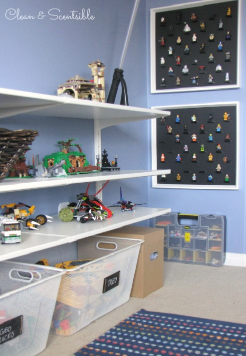 Great Lego organization - tons of ideas!