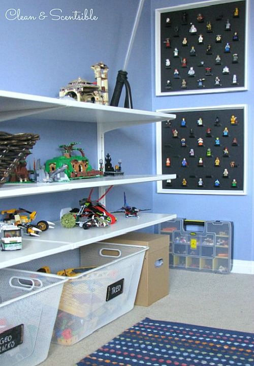 Love all of these Lego Organization ideas! // cleanandscentsible.com