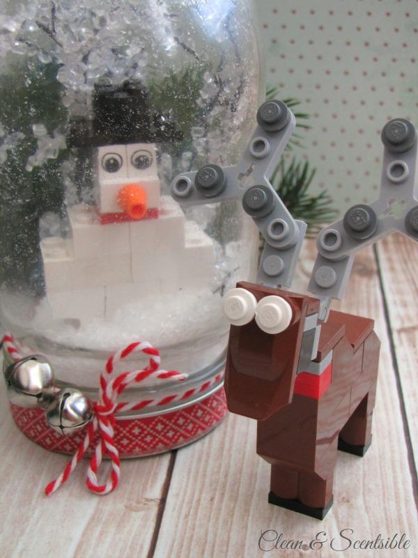 Lego Snowglobes.