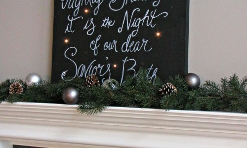 Twinkling Christmas Canvas Art