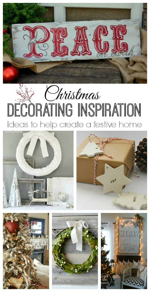 Beautiful Christmas decorating inspiration!