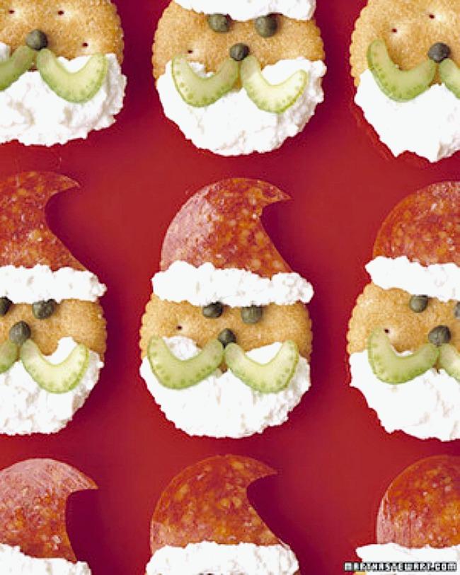 Santa crackers.
