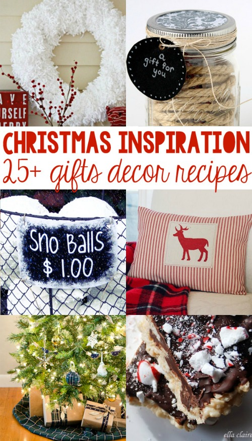 Lots of inspiration for Christmas gifts, decor and recipes!