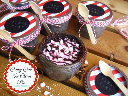 Candy Cane Ice Cream Pie and other Christmas recipes.