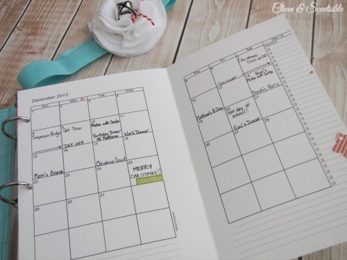 Christmas Planner with free printables!