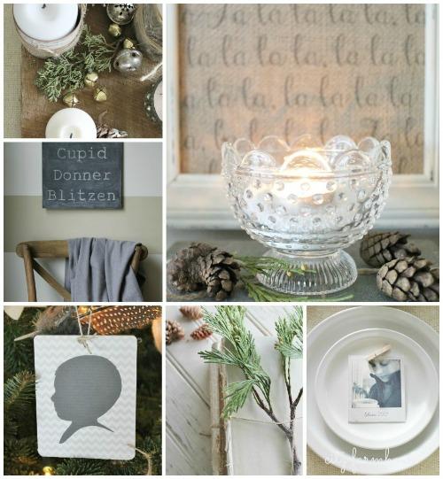 Beautiful Christmas home tour and other Christmas inspiration!