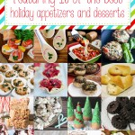 Lots of great holiday appy and dessert recipes for Christmas parties!