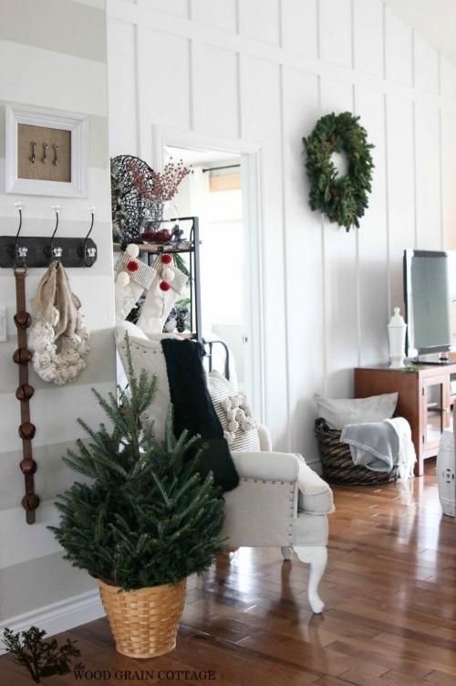 Beautiful Christmas decor inspiration.