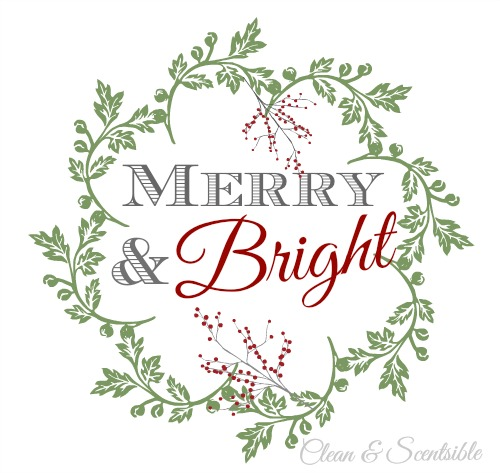Merry and Bright Printable Tags
