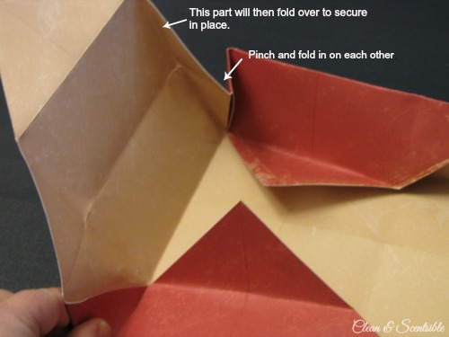 Paper treat box tutorial.