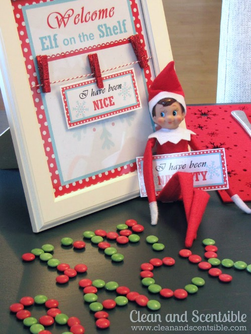 Cute Welcome Elf on the Shelf Breakfast.