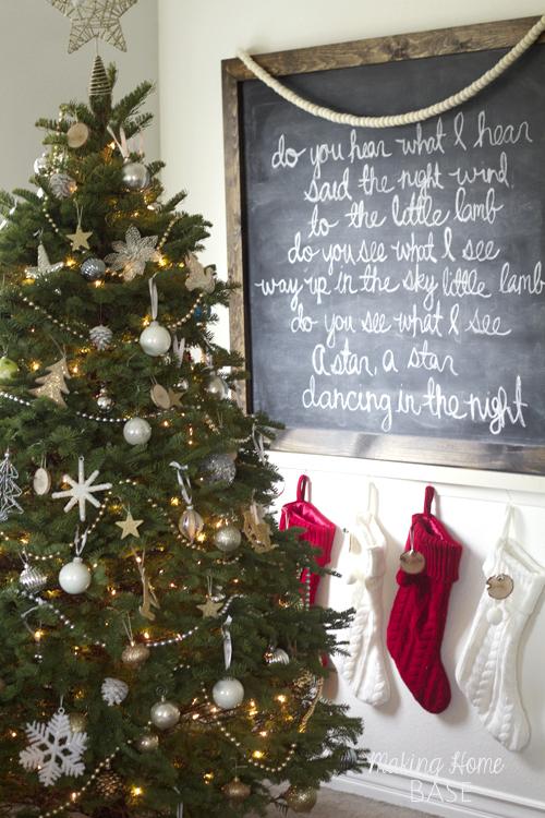 Christmas home tour and other Christmas inspiration.