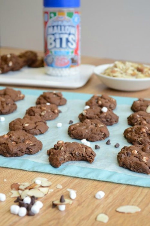 Rocky Road cookies and other Christmas recipes.