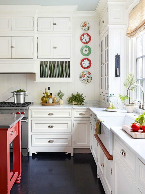 Beautiful ideas for organizing and designing your dream kitchen!