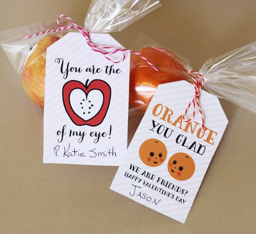 Lots Of Healthy Valentineu0027s Day Food Ideas Including These Fruit Tags.