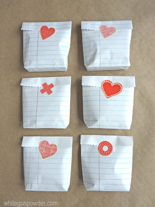 Lots of pretty Valentine's Day packaging ideas.