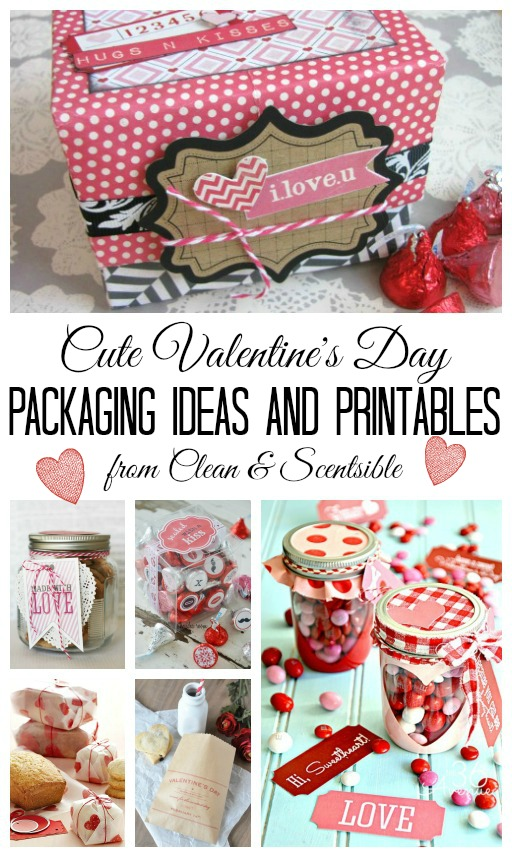 Valentine S Day Packaging Ideas And Printables Clean And Scentsible