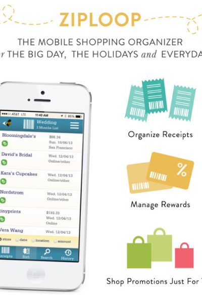 Organize all of your loyalty cards, coupons, gift cards, and receipts on your phone with this free app!