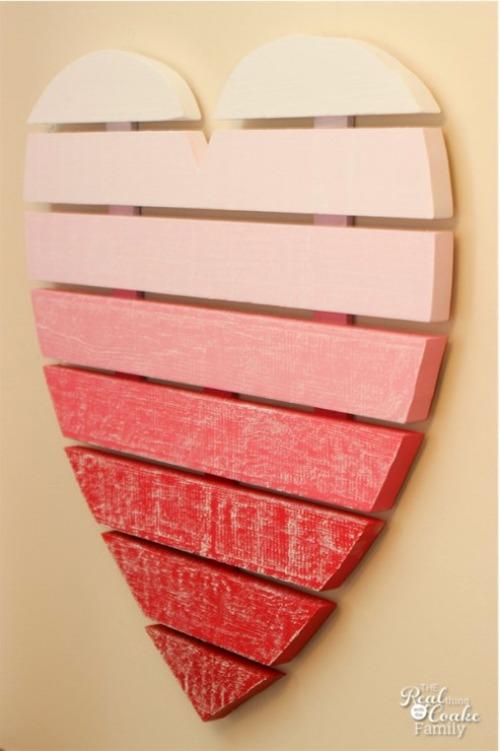 Chalkboard Ombre Heart.