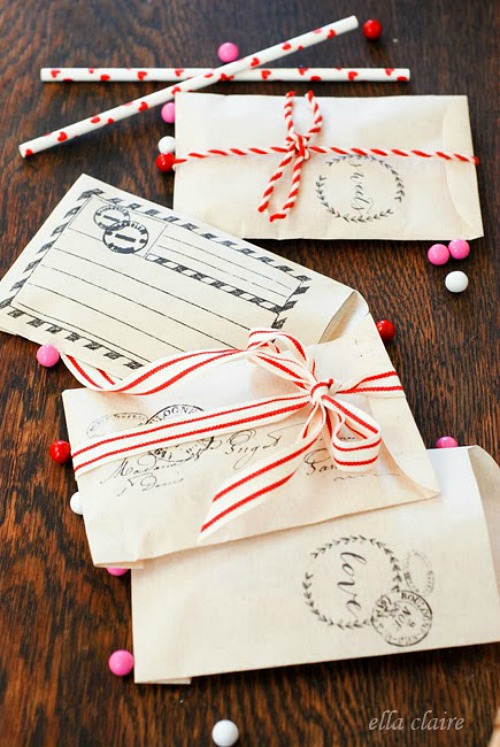 Free Printable Valentine Envelopes and other Valentine's Day ideas.