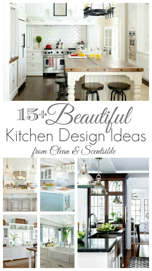 Lots of beautiful kitchen designs and decorating ideas!