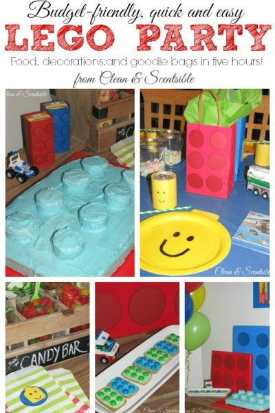 Quick and Easy Lego Party Ideas