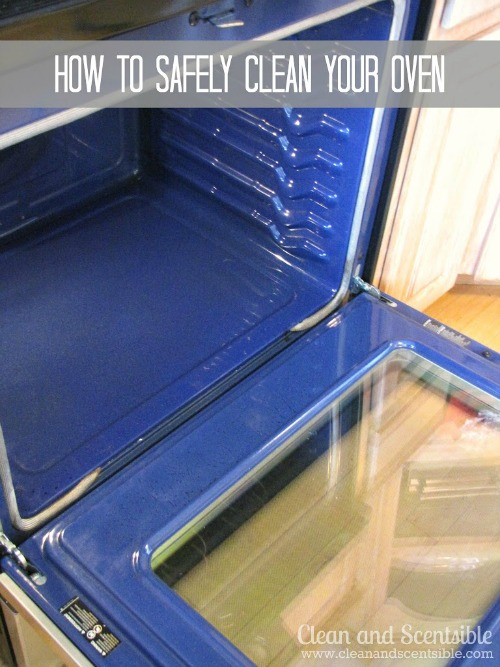 How to safely clean your oven.