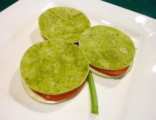 Lots of fun and healthy St. Patrick's Day food ideas!