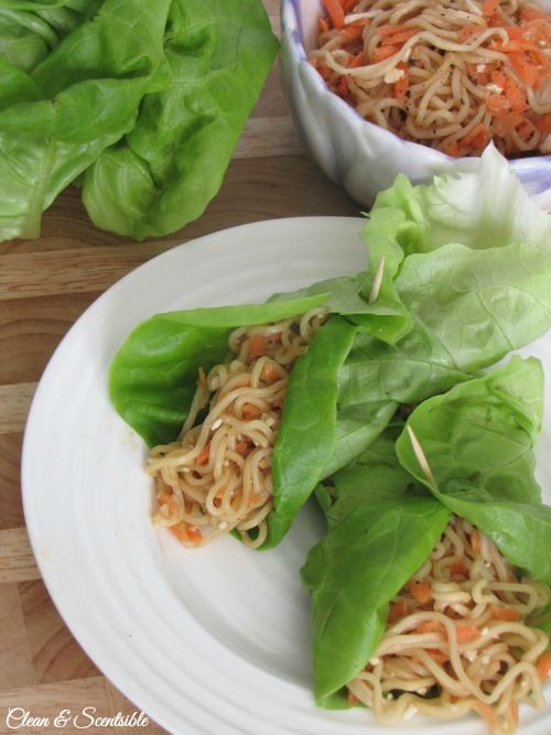 These quick and easy Asian lettuce wraps are made in less than 15 minutes and are so tasty!!